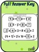 Number Tiles: Order of Operations  Number Line Square Tile Google Drive Puzzles
