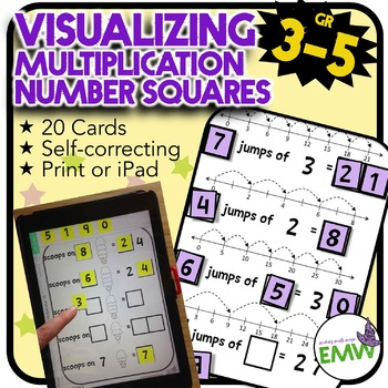 Number Tiles: Visualizing Multiplication - Print or solve