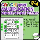 Number Tiles Visualizing Multiplication Square Tile Google Drive Puzzles