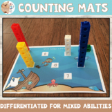 Number Tower / Counting Tower With Blocks Numbers 0 - 20