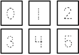 Number Trace Cards