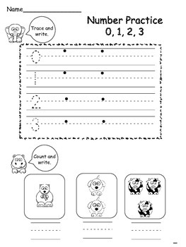 Number Trace & Count