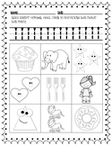 Number Trace/ Count & Color Numbers 1 - 10