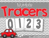 Number Sense Activities Number Tracers 0-20