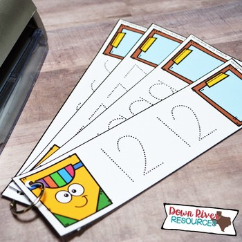 Number Tracing 0-20 Cards for Low Prep Math Center | Tracing Numbers
