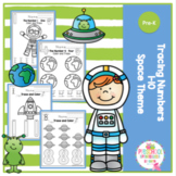 Number Tracing 1-10 Space Theme