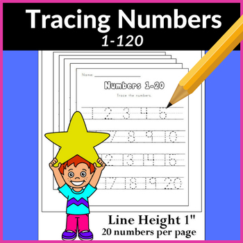 Number Tracing (1-100)