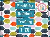 Number Tracing 1-20 #TeachersLoveTeachers