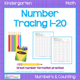Number Tracing 1-20