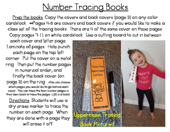 Number Tracing Books