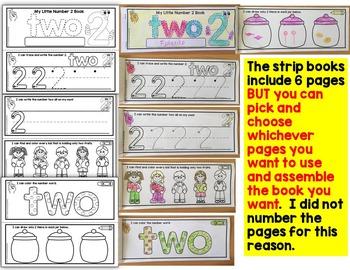 Number Tracing Books- Number books for preschool and kindergarten (1-10)