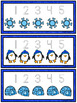 Number Tracing Cards: Winter Penguins (Numbers 1-20)