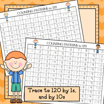 Number Tracing  & Charts to 120