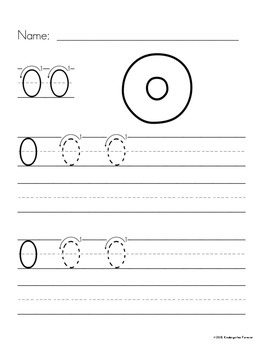 Number Tracing Pages - 0-9