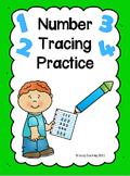 Number Tracing Practice 0 - 20