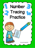 Number Tracing Practice 0 - 20