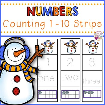 Number Tracing-Snowman