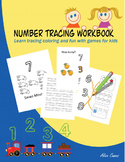 Number Tracing Workbook - Free version