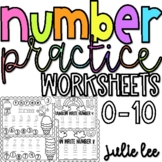 Number Tracing Worksheets Kindergarten Number Worksheets N