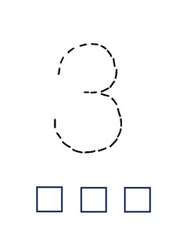 Number Tracing and Counting Book (1-10)