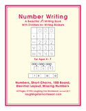 Number Tracing and Writing