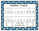 Number Track Workmats