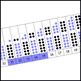 Rekenrek Number Path with 10 Frames