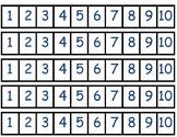 Number Tracks (1-10)