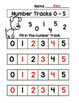 Number Tracks Digits 0 - 5 and 0 - 9