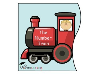 Number Train 1-10 Puzzle/Wall Decoration