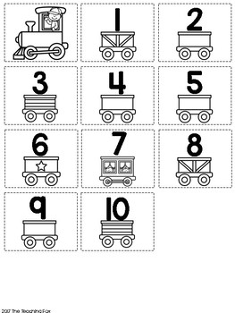 Number Train - Numbers 1-20