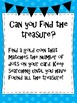 Number Treasure Hunt Task Cards