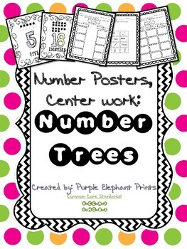 Number Trees Cut and Paste