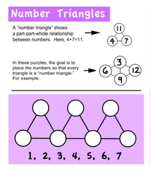 Number Triangle Puzzles