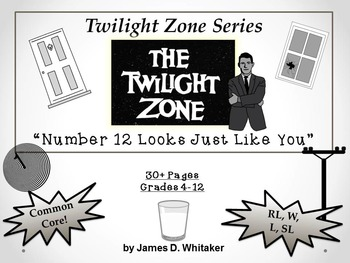 Number Twelve Looks Just Like You Twilight Zone Episode Unit Resource