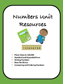 Number Unit Resources - Supplementary Practice