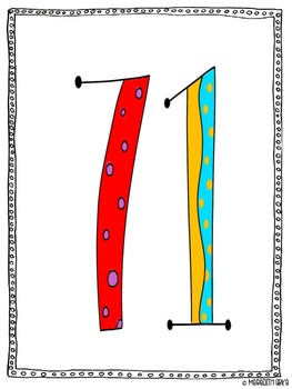 Number Vests For Comparing & Ordering Numbers
