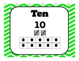 Number Visuals 1-10