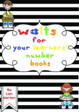 Number WALTs for your Learners' Maths Books
