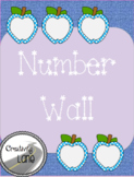 Number Wall 1-20 with Number Words