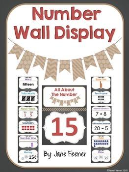 Number Wall Display