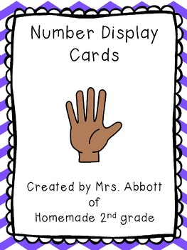 Number Wall Display Cards