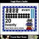 "Number Wall Posters/Headers--Number Sense ""Cool Cats"""