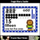 """Number Wall Posters/Headers--Number Sense """"Lion Pals"""""""