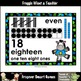 "Number Wall Posters/Headers--Number Sense ""Rock Star Zebras"" (blue)"