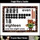 "Number Wall Posters/Headers--Number Sense ""Tigers Rock!"""