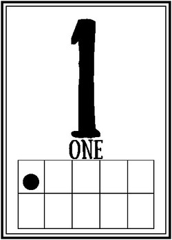 Number Wall Posters 0-20