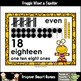 "Number Wall Posters/Headers--Number Sense ""Monster Buds"" (yellow/purple)"