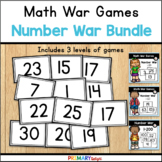 Number Recognition War Game Bundle for Numbers 0-200