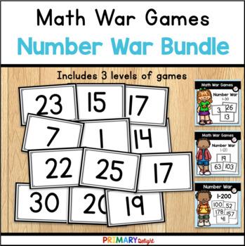 Number War Game Bundle